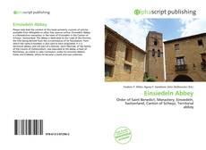 Capa do livro de Einsiedeln Abbey