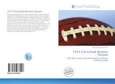 Обложка 1953 Cleveland Browns Season