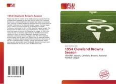 Buchcover von 1954 Cleveland Browns Season