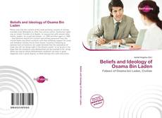 Bookcover of Beliefs and Ideology of Osama Bin Laden