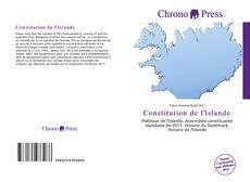 Copertina di Constitution de l'Islande