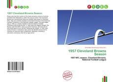 Buchcover von 1957 Cleveland Browns Season