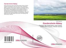 Buchcover von Gandersheim Abbey