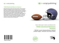 Couverture de 1958 Cleveland Browns Season