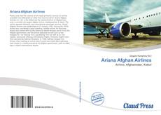 Bookcover of Ariana Afghan Airlines