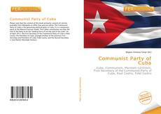 Couverture de Communist Party of Cuba