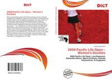Обложка 2008 Pacific Life Open – Women's Doubles