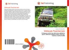 Buchcover von Véhicule Tout-terrain