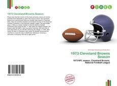 Buchcover von 1973 Cleveland Browns Season