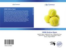 Bookcover of 2008 Ordina Open