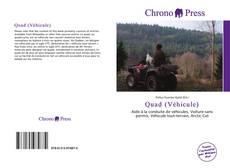 Buchcover von Quad (Véhicule)