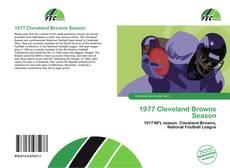Buchcover von 1977 Cleveland Browns Season