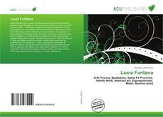 Lucio Fontana kitap kapağı