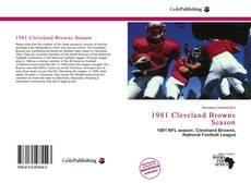 Buchcover von 1981 Cleveland Browns Season