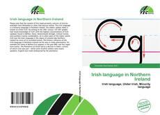 Обложка Irish language in Northern Ireland