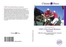 Обложка 1982 Cleveland Browns Season