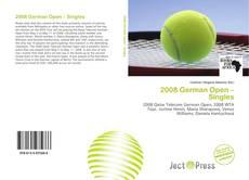 Обложка 2008 German Open – Singles