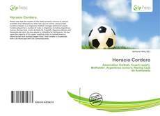 Portada del libro de Horacio Cordero