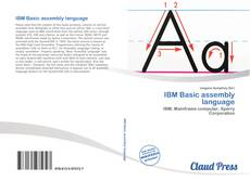 Bookcover of IBM Basic assembly language