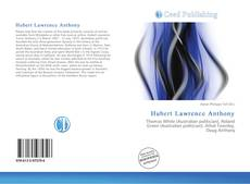 Bookcover of Hubert Lawrence Anthony