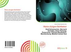 Buchcover von Hans-Jürgen Schlieker
