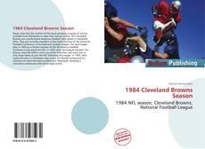 Buchcover von 1984 Cleveland Browns Season