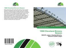 Buchcover von 1986 Cleveland Browns Season