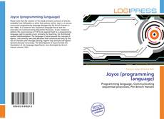 Bookcover of Joyce (programming language)