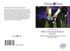 Buchcover von 1988 Cleveland Browns Season