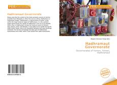 Bookcover of Hadhramaut Governorate