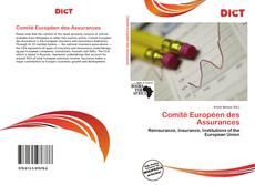 Comité Européen des Assurances的封面