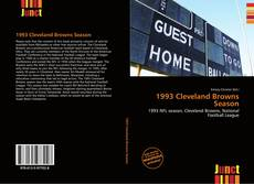 Bookcover of 1993 Cleveland Browns Season