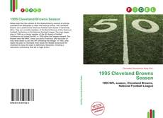 Bookcover of 1995 Cleveland Browns Season