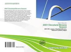 Portada del libro de 2001 Cleveland Browns Season