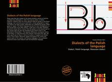 Couverture de Dialects of the Polish language