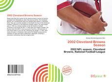 Portada del libro de 2002 Cleveland Browns Season