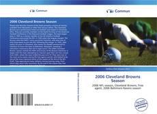 Buchcover von 2006 Cleveland Browns Season