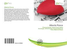 Capa do livro de Alberto Ponce