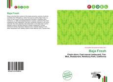 Capa do livro de Baja Fresh