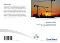 Обложка Mobile crane