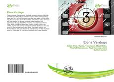 Bookcover of Elena Verdugo