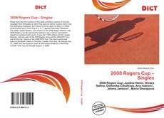 Обложка 2008 Rogers Cup – Singles