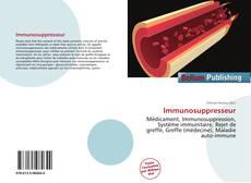 Immunosuppresseur kitap kapağı
