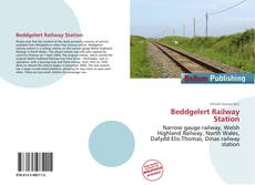 Bookcover of Beddgelert Railway Station