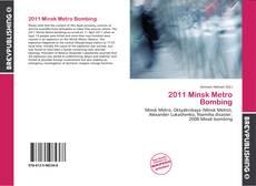 2011 Minsk Metro Bombing的封面