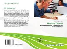 Bookcover of Marietta College