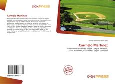 Bookcover of Carmelo Martínez