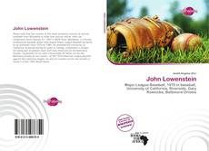 John Lowenstein kitap kapağı