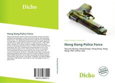Bookcover of Hong Kong Police Force