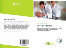 Crise de Panique kitap kapağı
